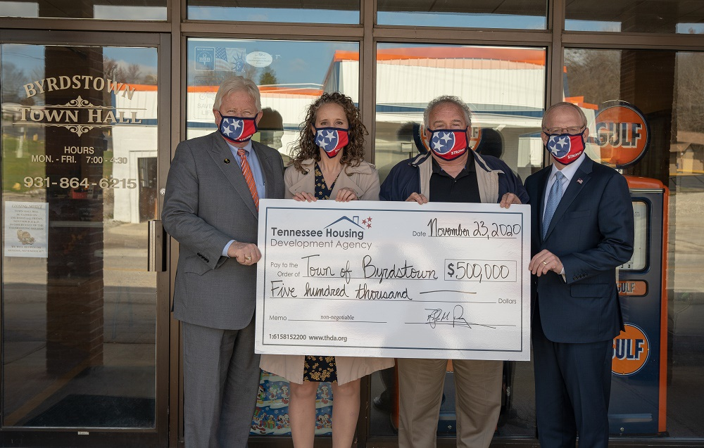 Byrdstown awarded $500,000 HOME grant from THDA