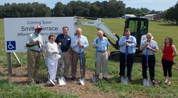 Ground is officially broken for Smith Terrace in McMinnville