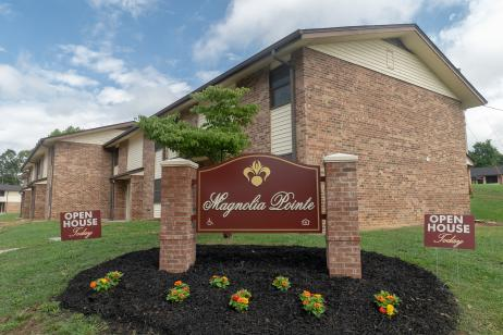 KHRA cuts ribbon on renovated Magnolia Pointe Apartments