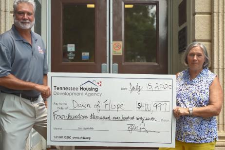 THDA awards Dawn of Hope grant to build new housing