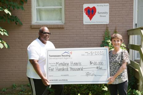 THDA awards Mending Hearts grant to build transitional housing